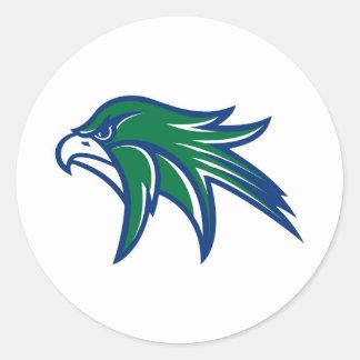 Bartlett Hawks Classic Round Sticker