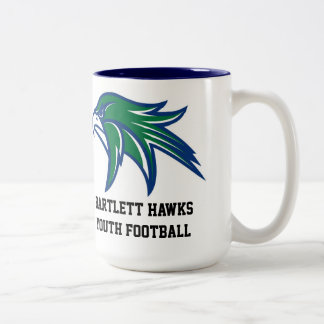 Bartlett Hawks la taza de café del fútbol de la ju