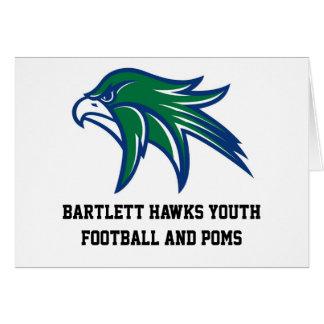 Bartlett Hawks Note Cards