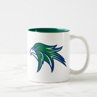 Bartlett Hawks Two-Tone Coffee Mug