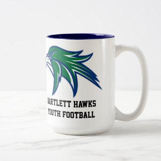Bartlett Hawks Youth Football Coffee Mug