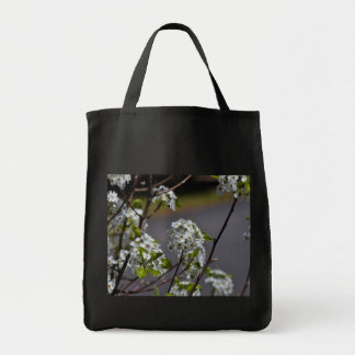 Bartlett Pear Tree Flowers Tote Bag