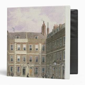 Bartlett's Buildings, Holborn, 1838 Binder