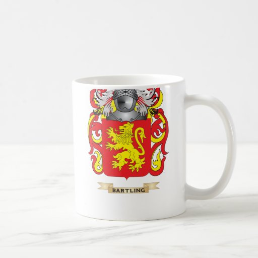 Bartling Coat of Arms (Family Crest) Classic White Coffee Mug