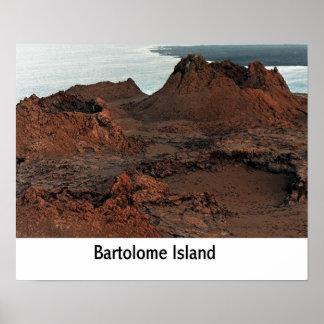 Bartolome Island, Galapagos Islands, Ecuador Print