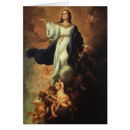 Bartolome Murillo - Assumption of the Virgin Card