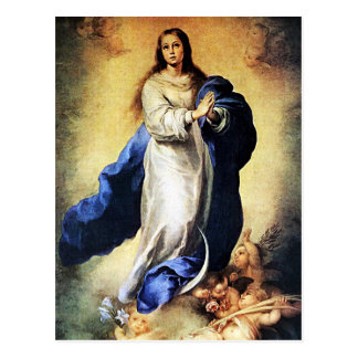 Bartolome Murillo - Immaculate Conception Postcard