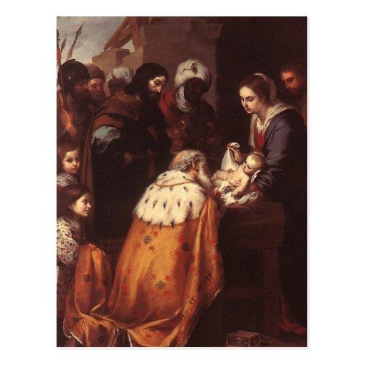 Bartolome Murillo - The Adoration of the Magi Postcards