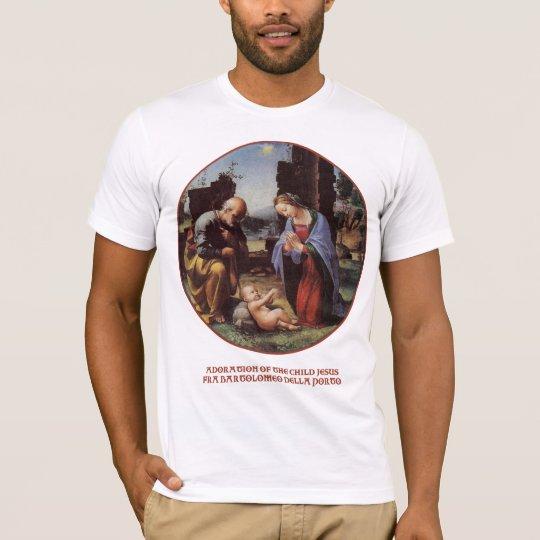 Bartolomeo della Porto's Holy Family Painting T-Shirt