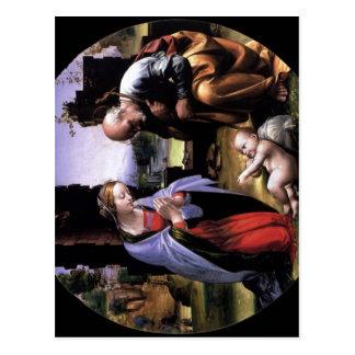 Bartolomeo, Fra Die Anbetung des Kindes, Tondo um  Postcards