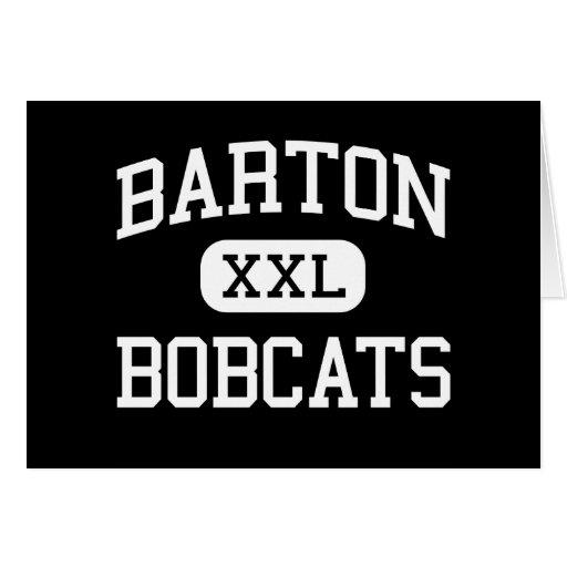 Barton - Bobcats - Junior High School - Buda Texas Card