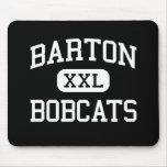 Barton - Bobcats - Junior High School - Buda Texas Mouse Mats
