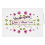 Barton ~ Clara Barton / Famous USA Women Greeting Card