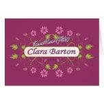 Barton ~ Clara Barton / Famous USA Women Cards