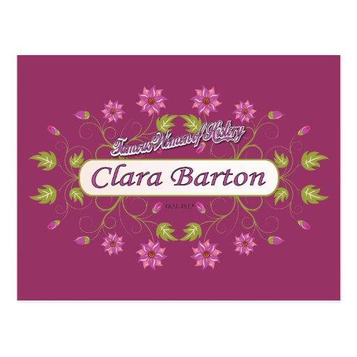 Barton ~ Clara Barton / Famous USA Women Post Cards