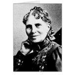 Barton ~ Clara Founder American Red Cross Card