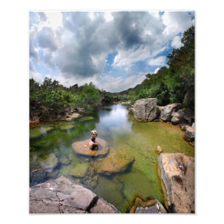 Barton Creek 15 - Austin Texas Photo Print