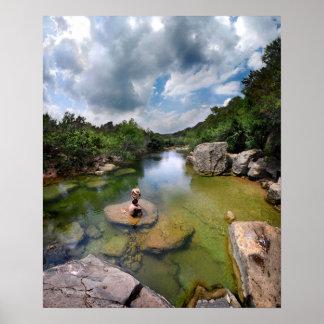 Barton Creek 15 - Austin Texas Print