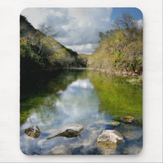 Barton Creek 3 - Austin Texas Mouse Pad