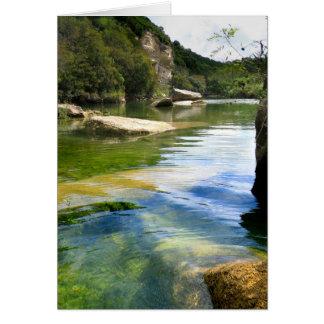 Barton Creek 4 - Austin Texas Card