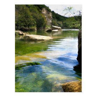Barton Creek 4 - Austin Texas Postcard