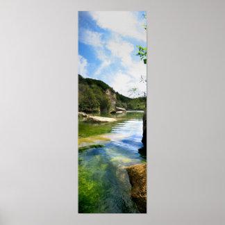 Barton Creek 4 - Austin Texas Posters