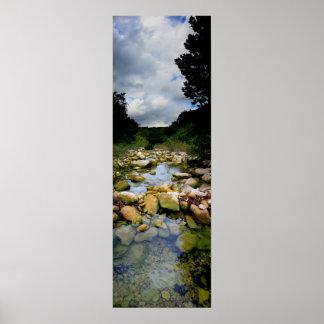 Barton Creek 5 - Austin Texas Print