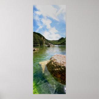 Barton Creek 6 - Austin Texas Poster
