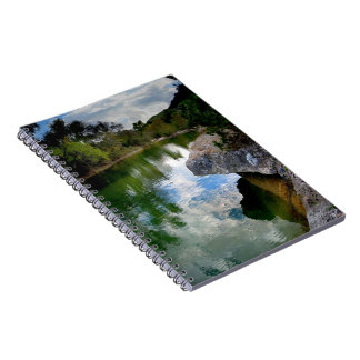 Barton Creek 8- Austin Texas Spiral Notebook