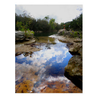 Barton Creek 9 - Austin Texas Postcard