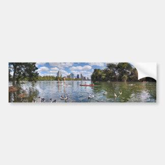 Barton Creek at Lady Bird Lake - Austin, Texas Bumper Sticker