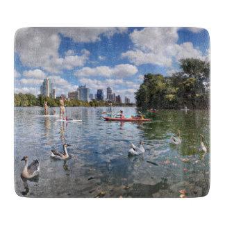 Barton Creek at Lady Bird Lake - Austin, Texas Cutting Board