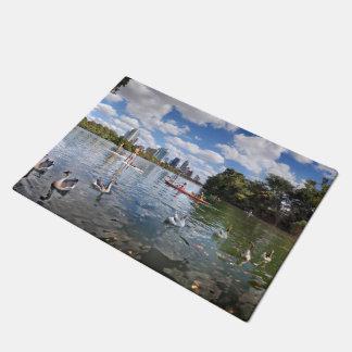 Barton Creek at Lady Bird Lake - Austin, Texas Doormat