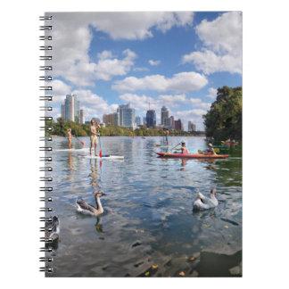 Barton Creek at Lady Bird Lake - Austin, Texas Notebook