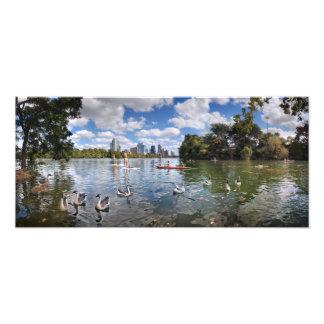 Barton Creek at Lady Bird Lake - Austin, Texas Photo Print