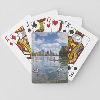 Barton Creek at Lady Bird Lake - Austin, Texas Playing Cards