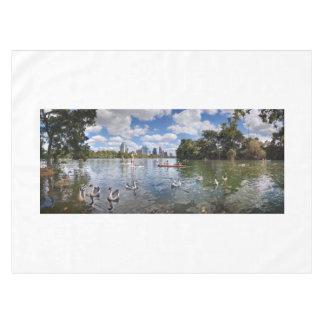 Barton Creek at Lady Bird Lake - Austin, Texas Tablecloth