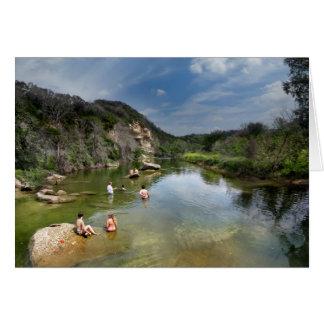 Barton Creek - Austin Texas 14 Card