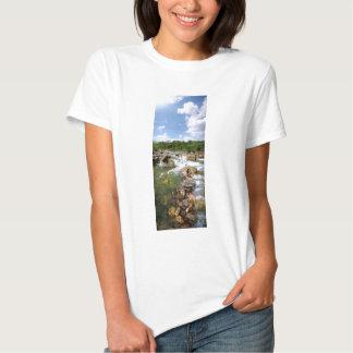 Barton Creek - Austin, Texas - 3 Mile Waterfalls T-shirt