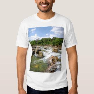 Barton Creek - Austin, Texas - 3 Mile Waterfalls Tee Shirt
