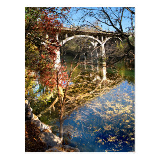 Barton Creek Bridge - Austin Texas Postcard