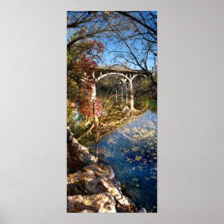 Barton Creek Bridge - Austin Texas Print