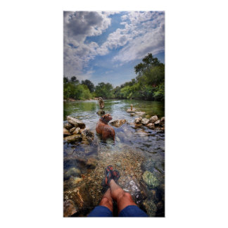 Barton Creek Dog Paparazzi - Austin Texas Posters