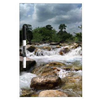 Barton Creek Greenbelt Waterfalls - Austin, Texas Dry Erase Board