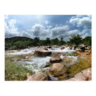 Barton Creek Greenbelt Waterfalls - Austin, Texas Postcard
