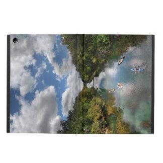 Barton Creek Kayaks - Austin Texas Cover For iPad Air