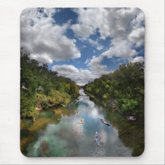 Barton Creek Kayaks - Austin Texas Mouse Pad