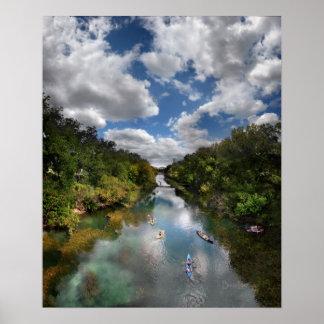 Barton Creek Kayaks - Austin Texas Posters