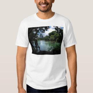 Barton Creek / Ladybird Lake - Austin, Texas T-shirt