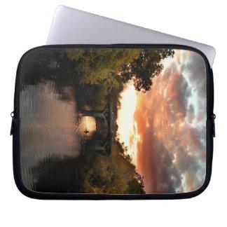 Barton Creek Sunset - Austin Texas Laptop Sleeves